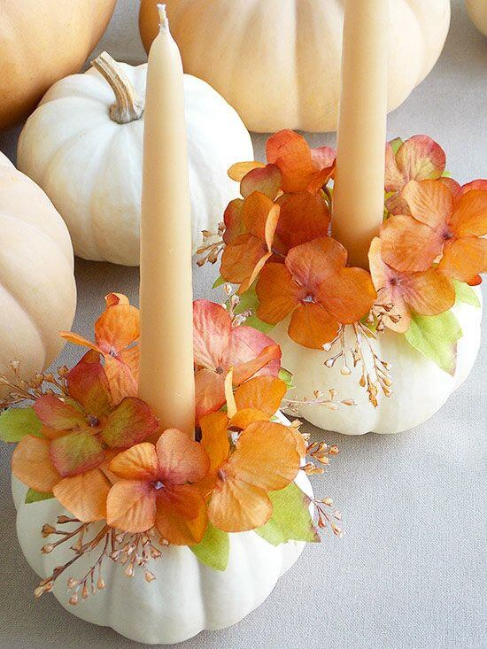 Display Candles in a Fresh Way | Best Thanksgiving Centerpieces