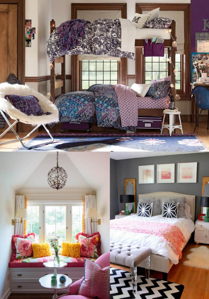 Colorful + electric   Decorating Teen Bedrooms: Transforming a Child's Room with Teenage Décor - FarmFoodFamily.com