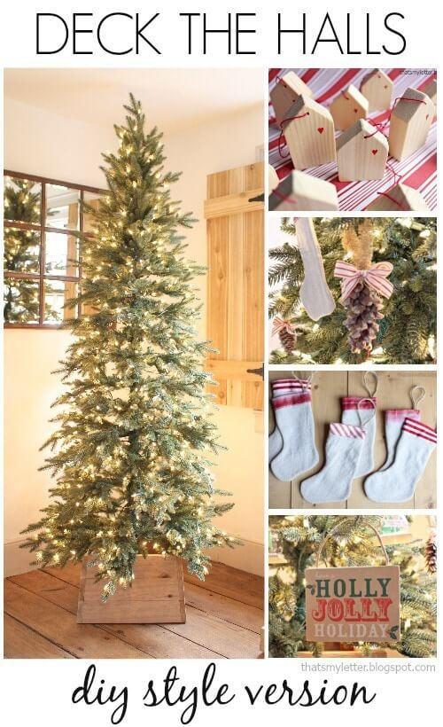 DIY The halls | Best Way to Decorate Christmas Trees on a Budget: Inexpensive or Free & Easy Holiday Ornaments & Decorations