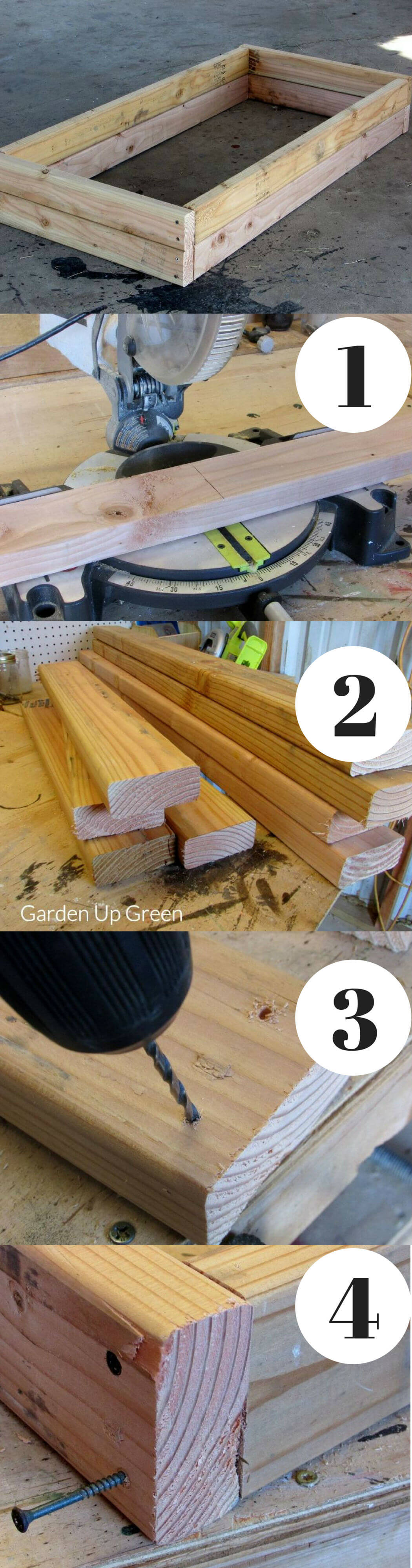 Raised Bed with $10 | How to Build a Raised Vegetable Garden Bed | 39+ Simple & Cheap Raised Vegetable Garden Bed Ideas - farmfoodfamily.com