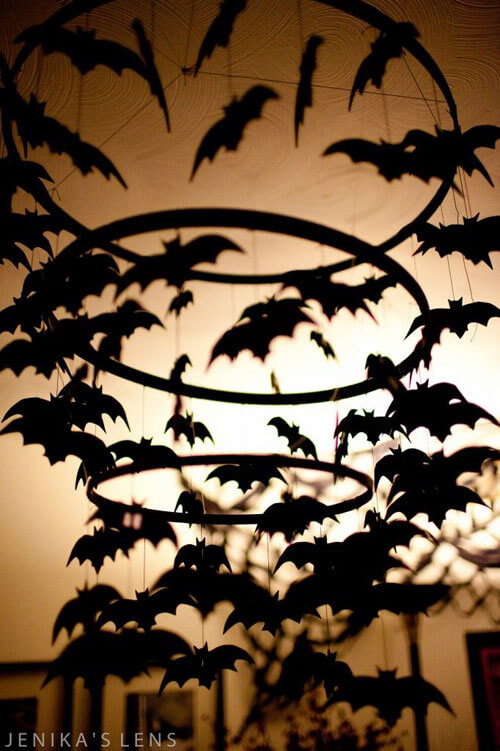Bat Chandelier | Halloween Party Themes For Adults