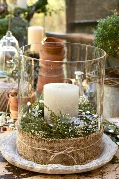 Country Christmas | Best Elegant Christmas Centerpieces & Designs | Farmfoodfamily.com