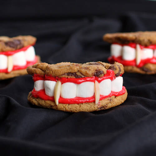 Dracula Dentures recipe | Halloween Party Food Ideas | Halloween Party Themes For Adults