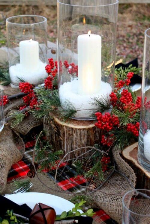 Winter Tablescape | Best Elegant Christmas Centerpieces & Designs | Farmfoodfamily.com