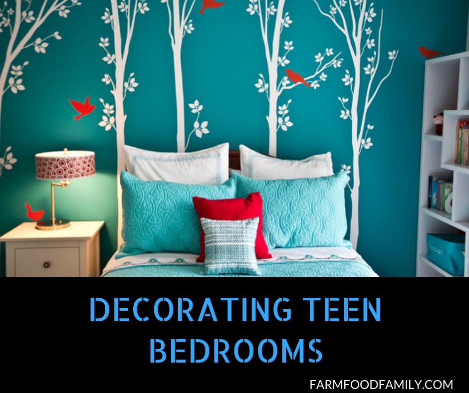 37+ Cool Bedroom Decorating Ideas For Teens