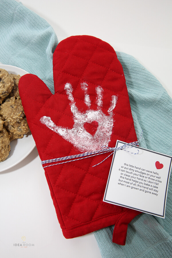 Handprint Over Mitt | Christmas Gifts for Grandparents: Creative Holiday Ideas for Grandma and Grandpa