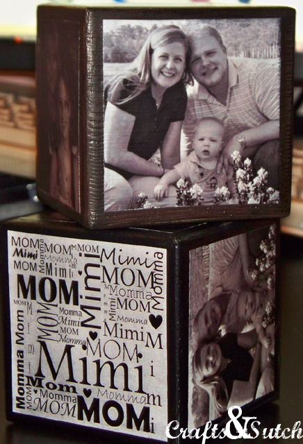 DIY Photo Cubes Craft | Christmas Gifts for Grandparents: Creative Holiday Ideas for Grandma and Grandpa