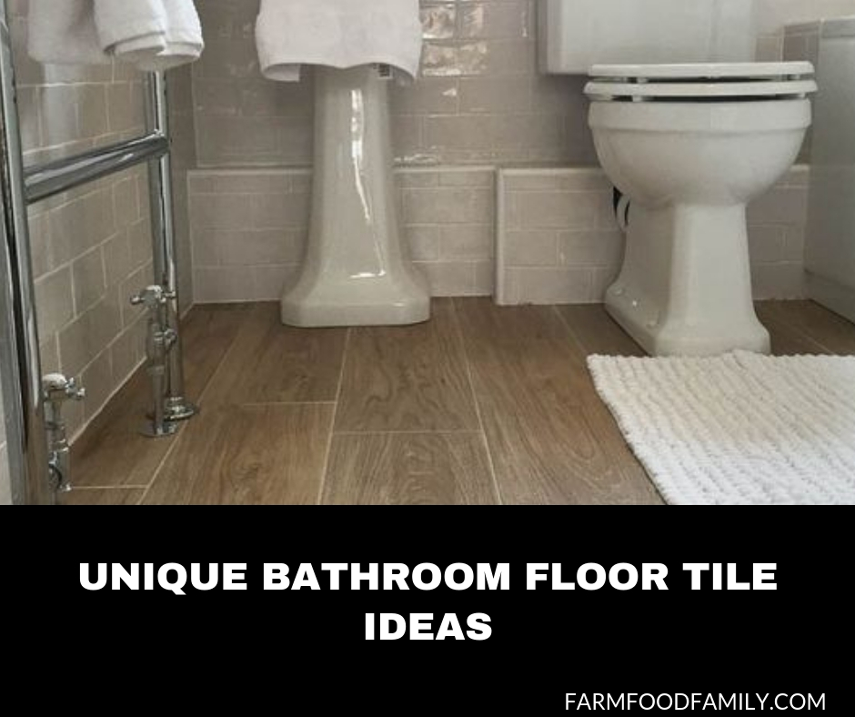 10+ Unique Bathroom Floor Tile Designs & Ideas For 2020