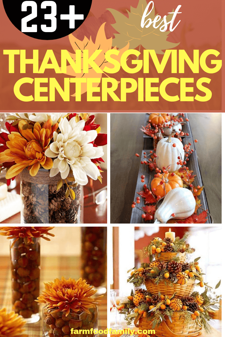 Best Thanksgiving Centerpieces: Decorate a Festive Table This Holiday Season