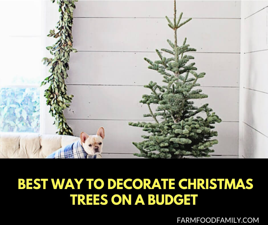 newest dd045 0e10d 25+ Inexpensive Christmas Tree Decorating Ideas - FarmFoodFamily