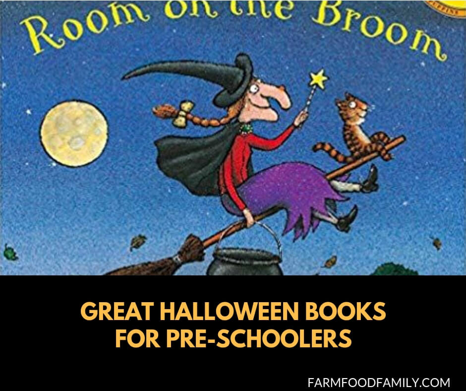 Great Halloween books for preschoolers