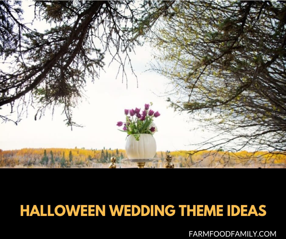 29+ Halloween Wedding Theme Ideas
