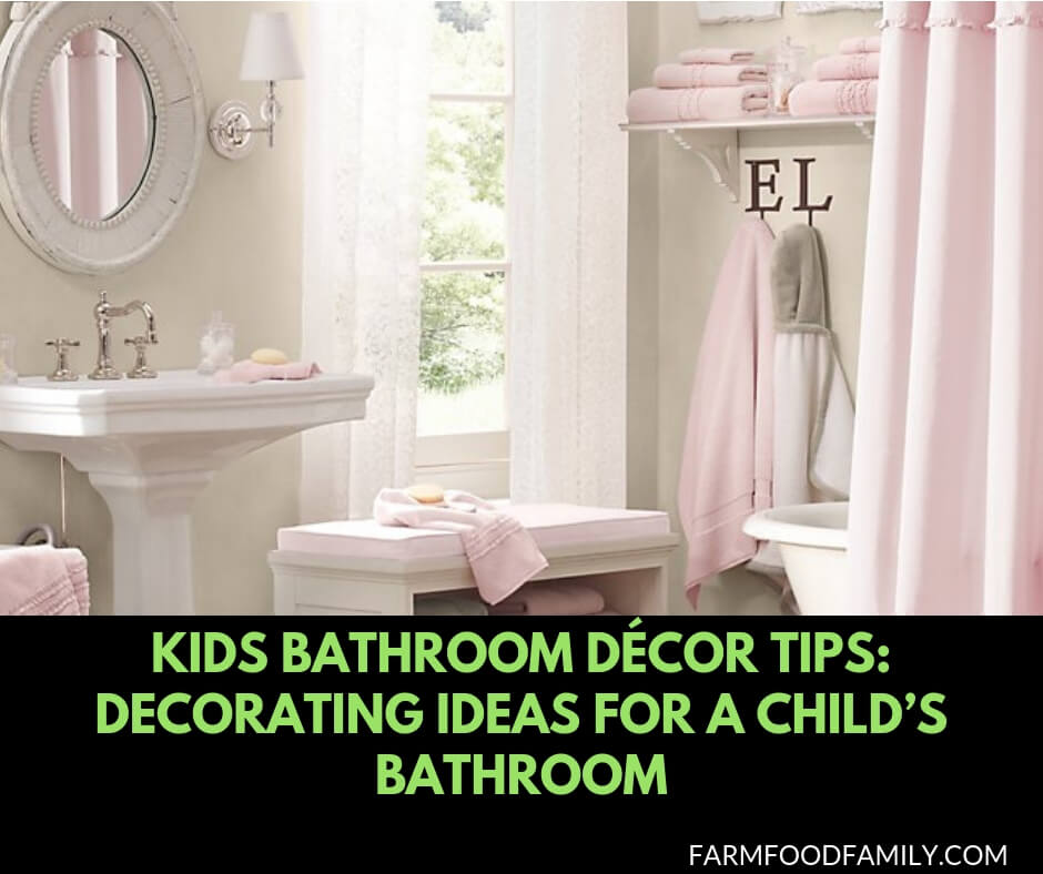 Kids Bathroom Décor Tips: Decorating Ideas for a Child's Bathroom