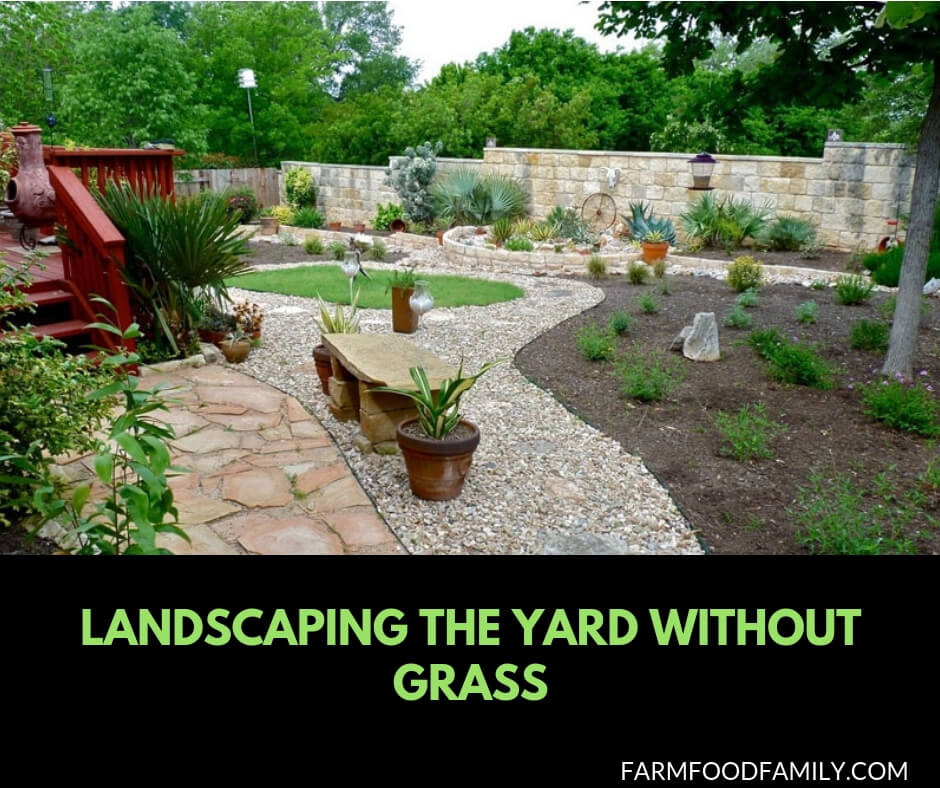44 Best Landscaping Design Ideas Without Grass 2020 Farmfoodfamily