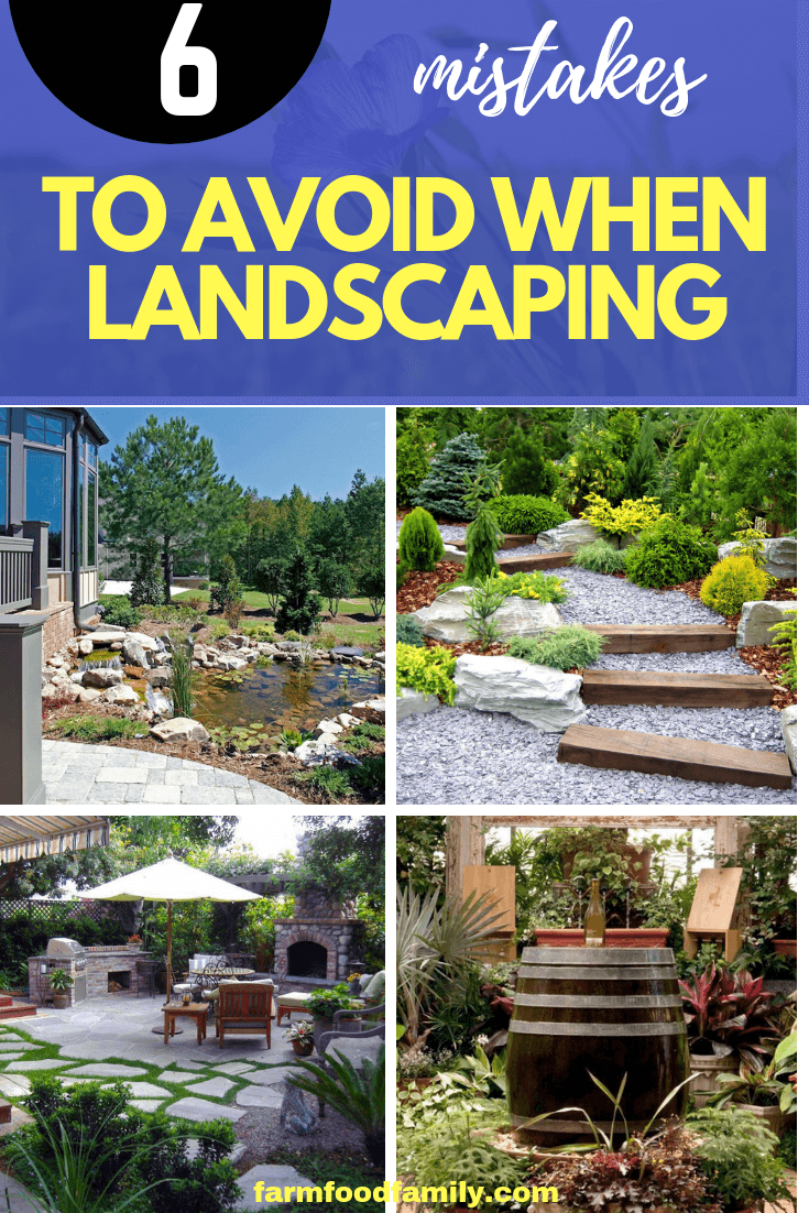 Six Mistakes to Avoid When Landscaping
