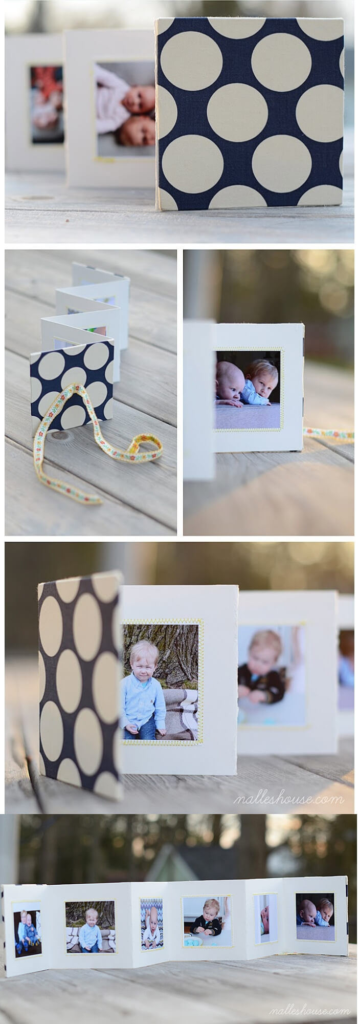 DIY Brag Book | Christmas Gifts for Grandparents: Creative Holiday Ideas for Grandma and Grandpa