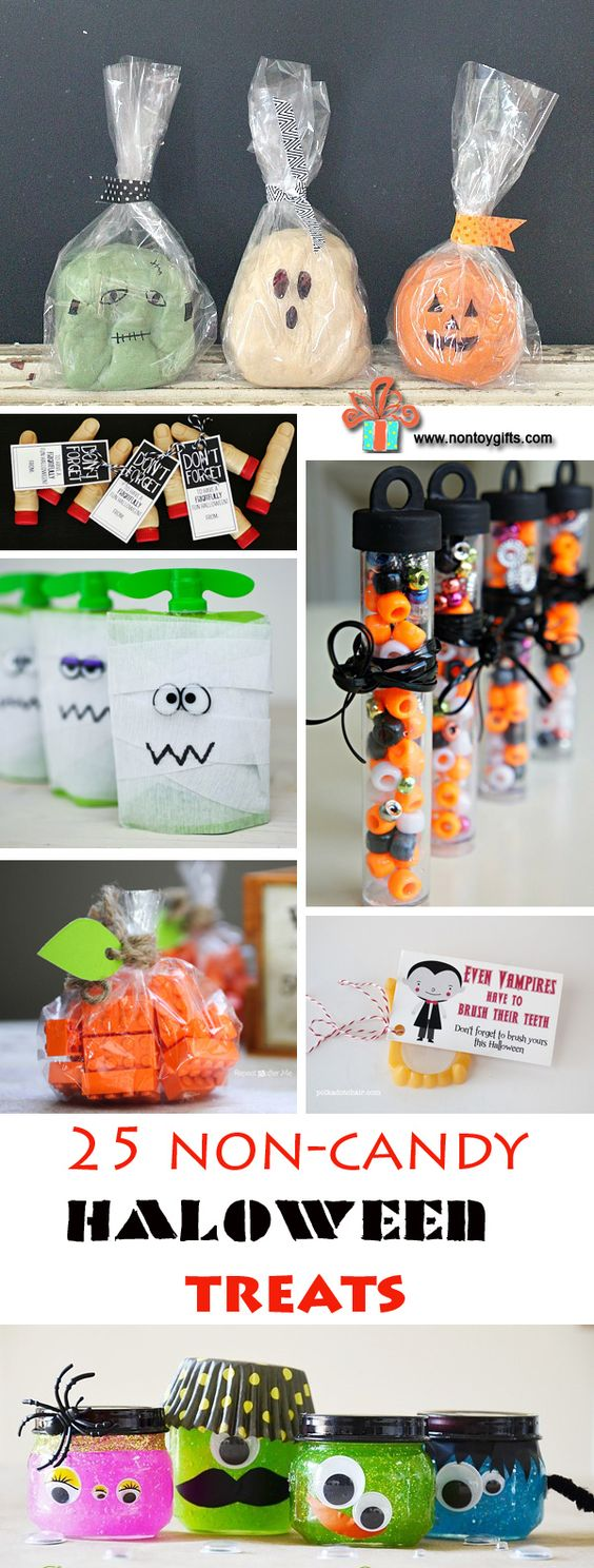Non candy Halloween treats   How to Have a Green Halloween: Ideas to Make This Halloween More Eco-Friendly
