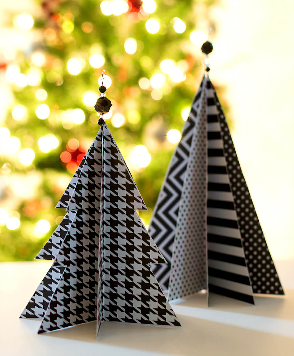 Christmas Paper Trees