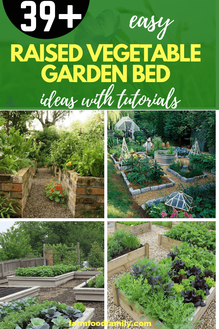 How to Build a Raised Vegetable Garden Bed | 39+ Simple & Cheap Raised Vegetable Garden Bed Ideas - farmfoodfamily.com