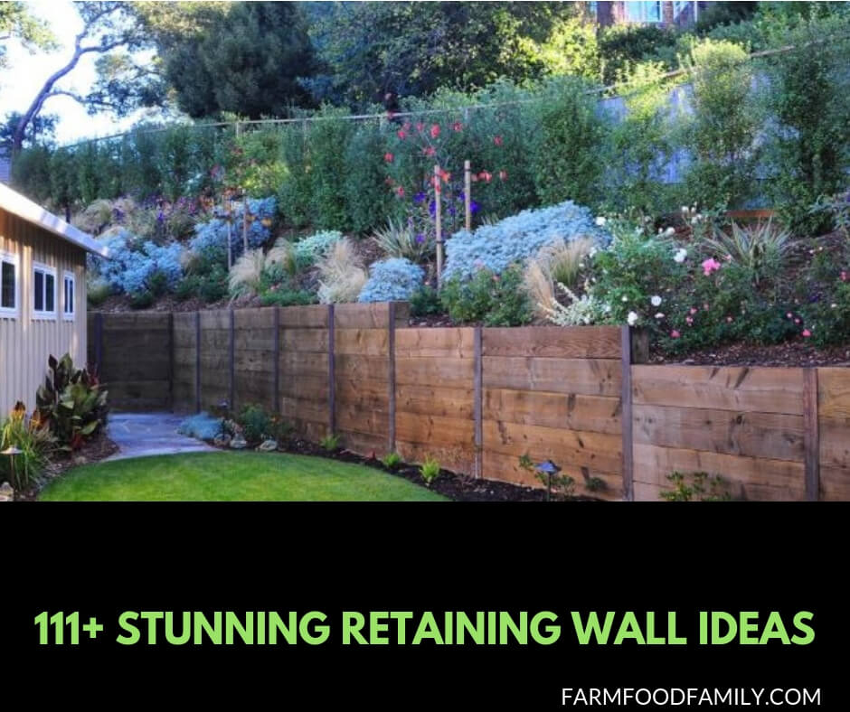 111+ Awesome Retaining Wall Ideas