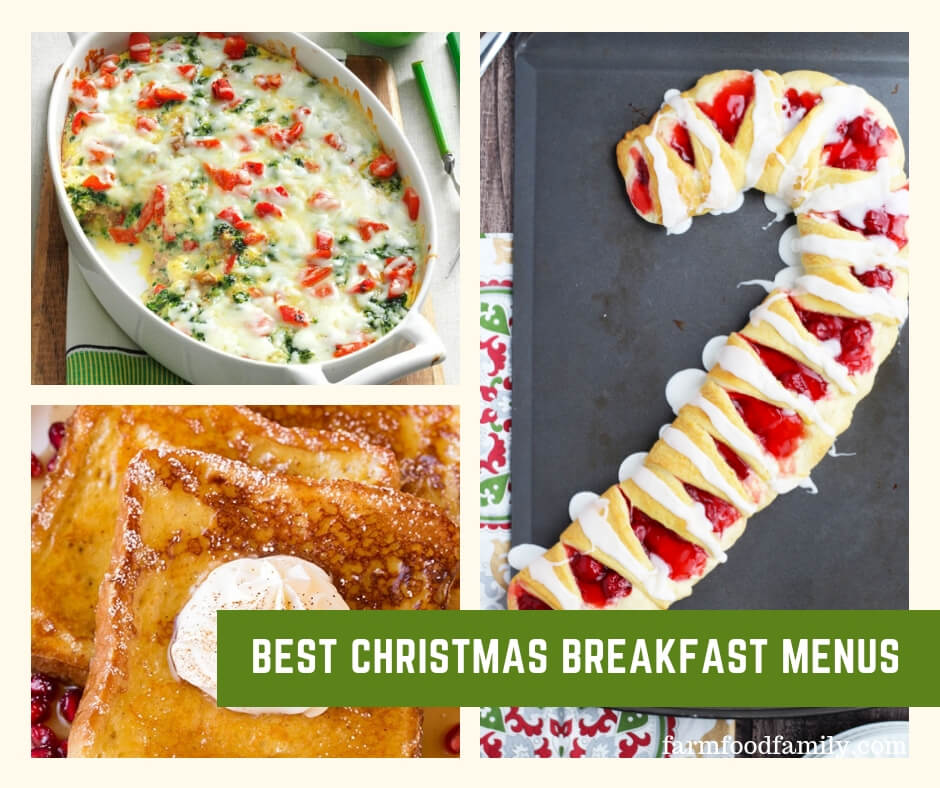 The Best Christmas Breakfast Menus with Recipes