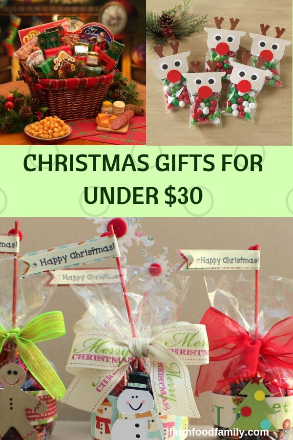 Christmas Gifts for Under $30: Creative Holiday Presents on a Budget