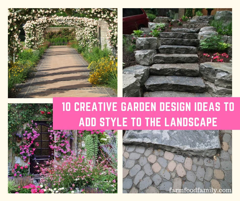 10 Creative Garden Design Ideas to Add Style to the Landscape