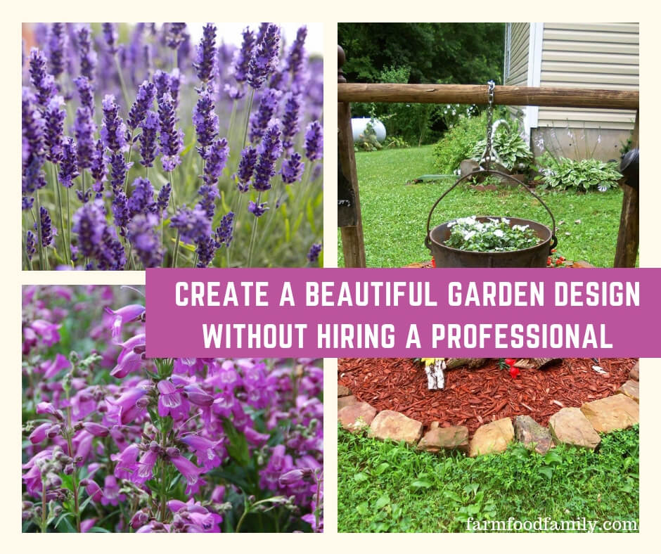Create a Beautiful Garden Design Without Hiring a Professional