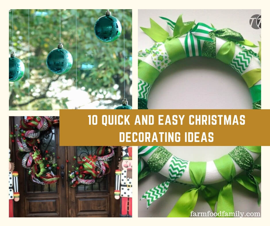 10 Quick and Easy Christmas Decorating Ideas