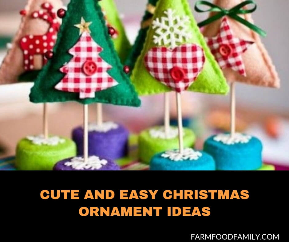 Cute & easy Christmas ornament ideas to decorate this Holiday