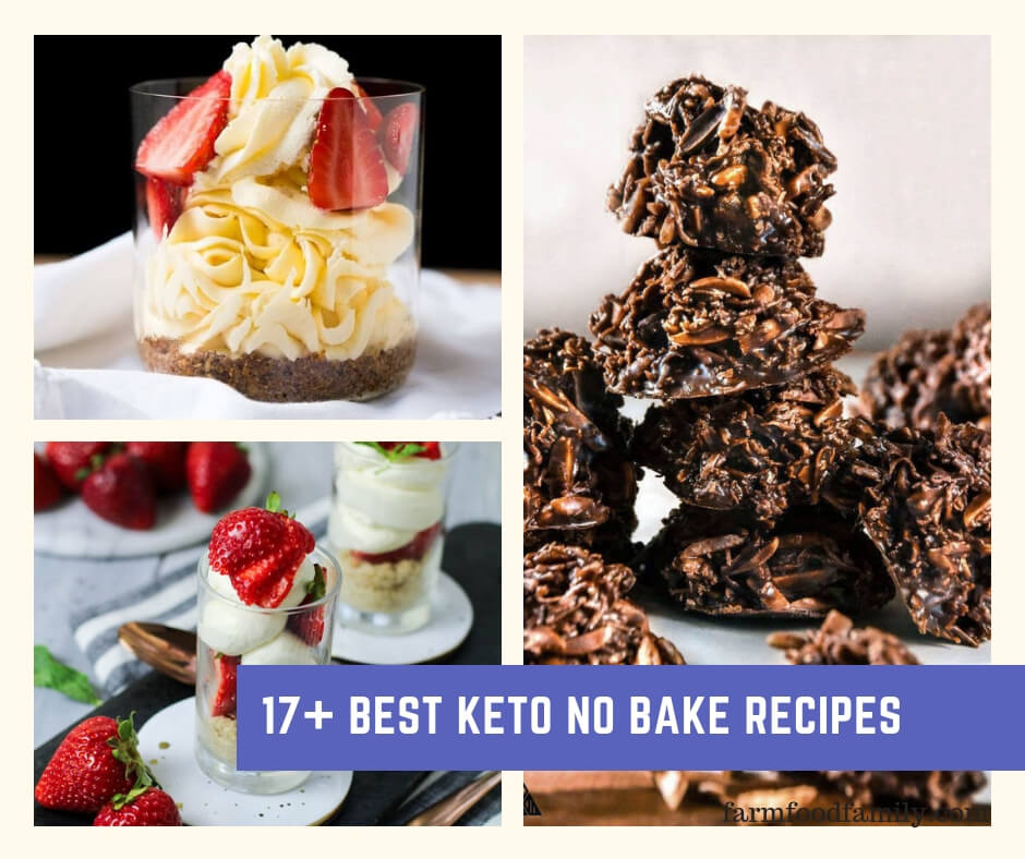 Best Keto No Bake Dessert Recipes