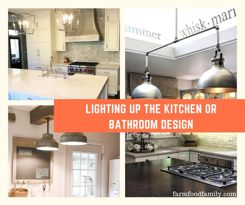 Best Kitchen & Bathroom Lighting Designs