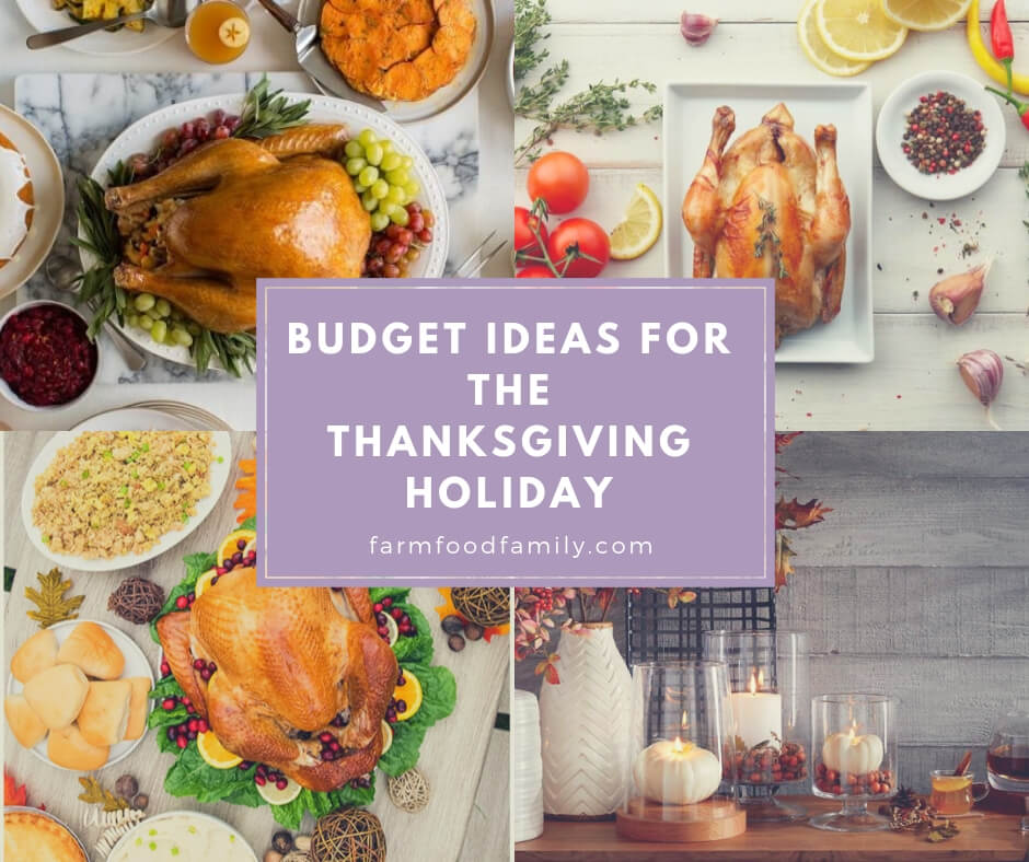 Budget Ideas For The Thanksgiving Holiday