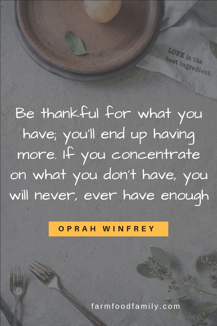 thanksgiving words of inspiration