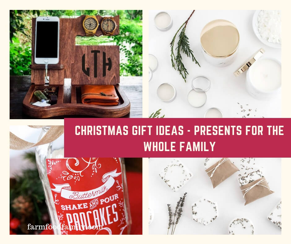 christmas gift ideas presents for the whole family friends dad mom and students