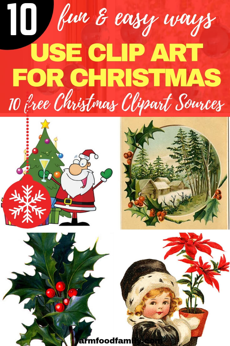Top 10 Fun, Easy & Creative Ways to Use Clip Art for Christmas