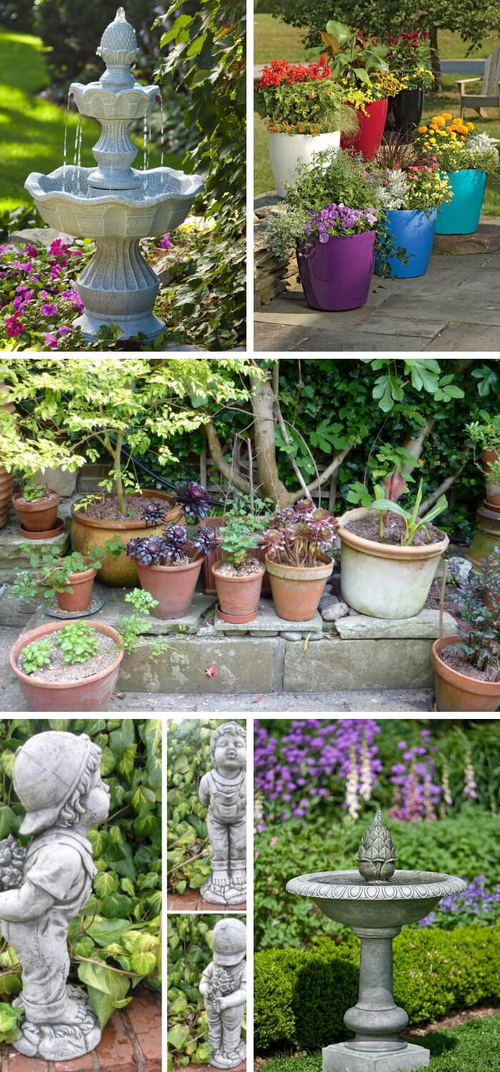 The Best Pots and Ornaments for Your Garden Design