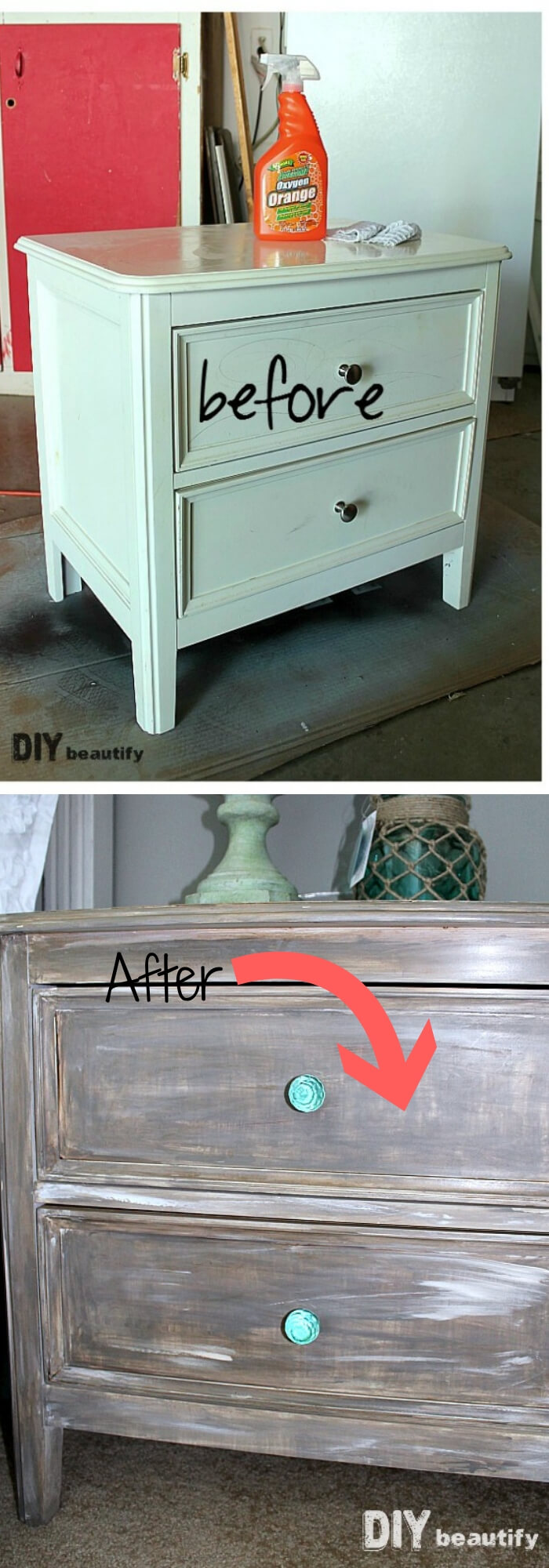 Add a Driftwood Finish to Furniture
