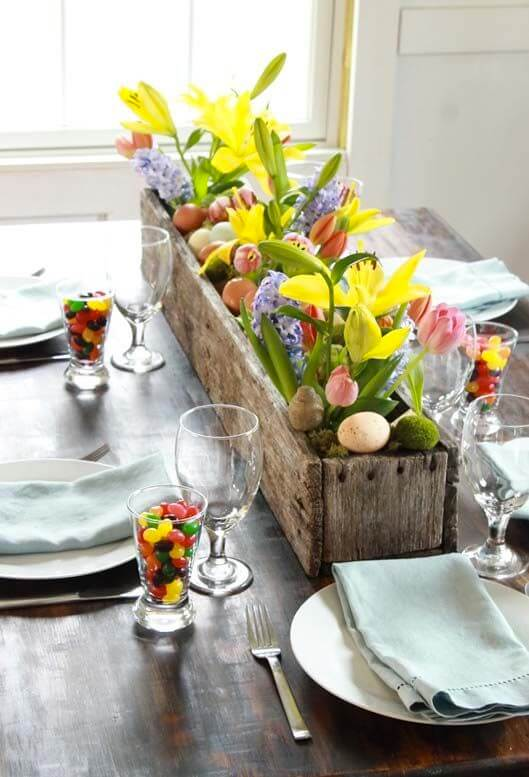Indoor Easter Gardening   Spring Spruce-Up - Quick, Cheap Home Décor Ideas   FarmFoodFamily.com