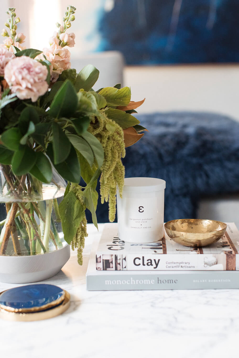Quick Decorating Changes for Spring: Change your candles or diffusers to summery scents
