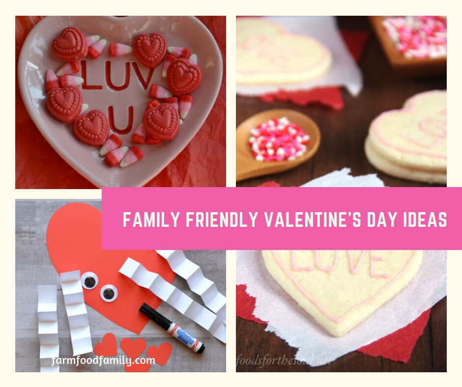 Family Friendly Valentine's Day Ideas