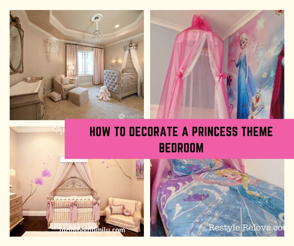How to Decorate a Princess Theme Bedroom