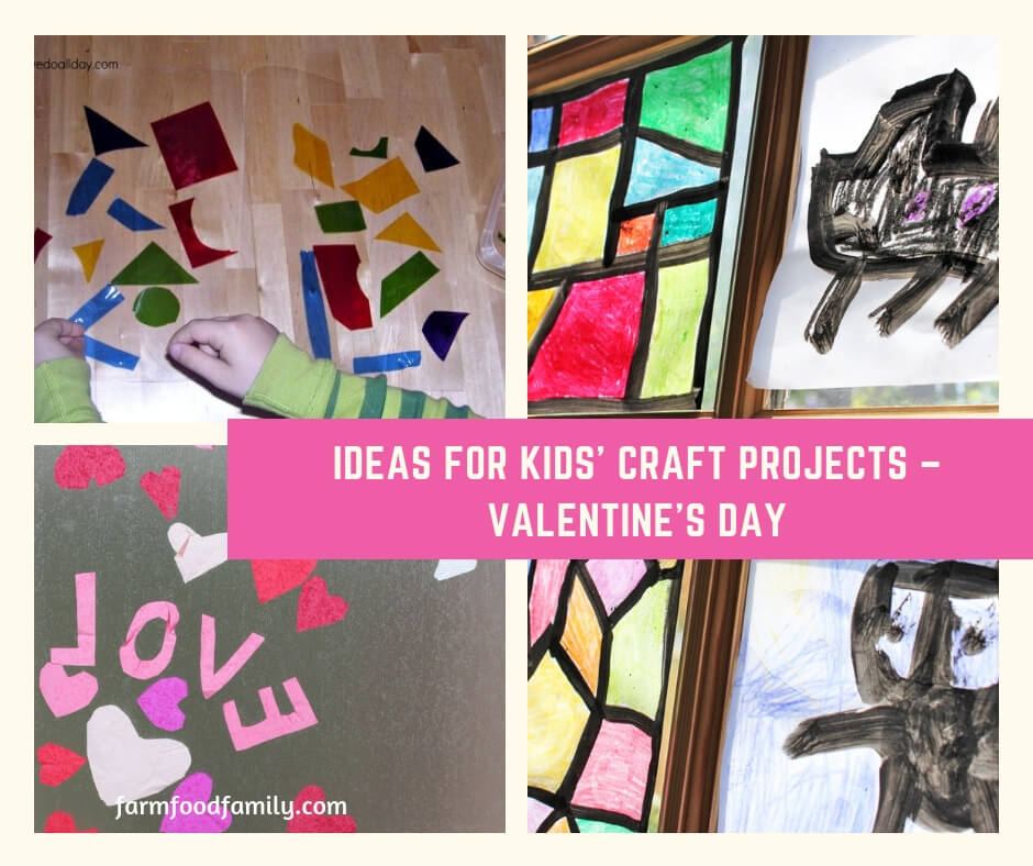 Ideas for Kids' Craft Projects – Valentine's Day
