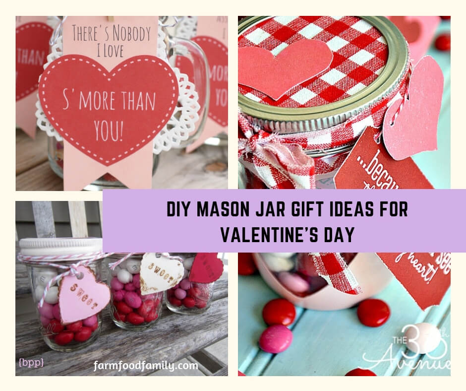 DIY Mason Jar Gift Ideas For Valentine's Day