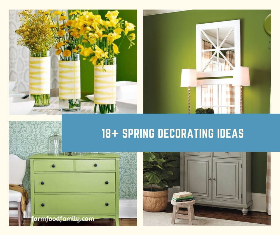 18+ Spring Decorating Ideas: Get Your Home Ready For Warm