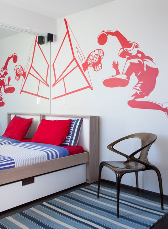 Sports Theme | Basket Ball | Cool Bedroom Ideas For Boys