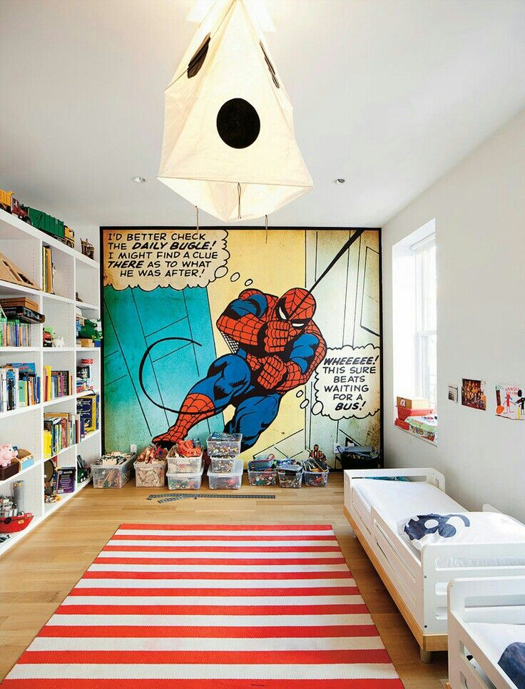 Favorite Characters | Cool Bedroom Ideas For Boys