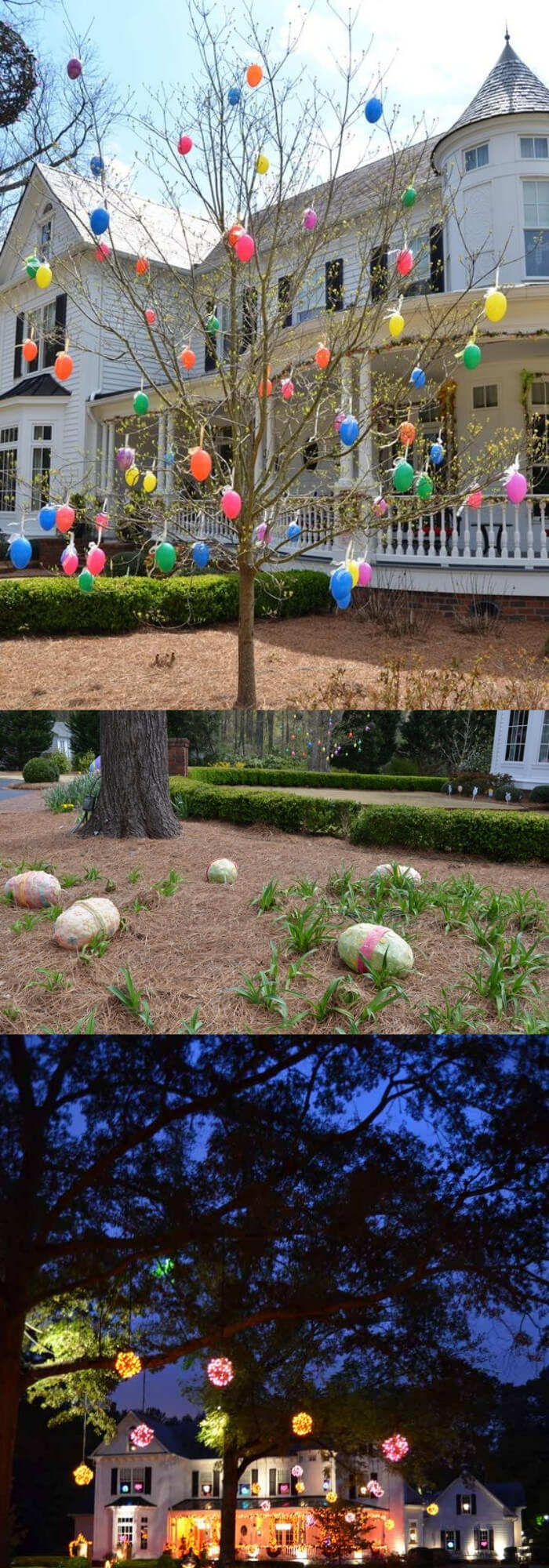 Colorful Easter Garden   Creative Easter Garden Projects & Ideas Your Kids Will Love