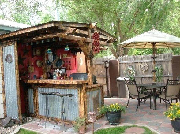 Rustic Outdoor Kitchen | DIY Outdoor Kitchen Ideas (Cheap, Simple, Modern, and Country)