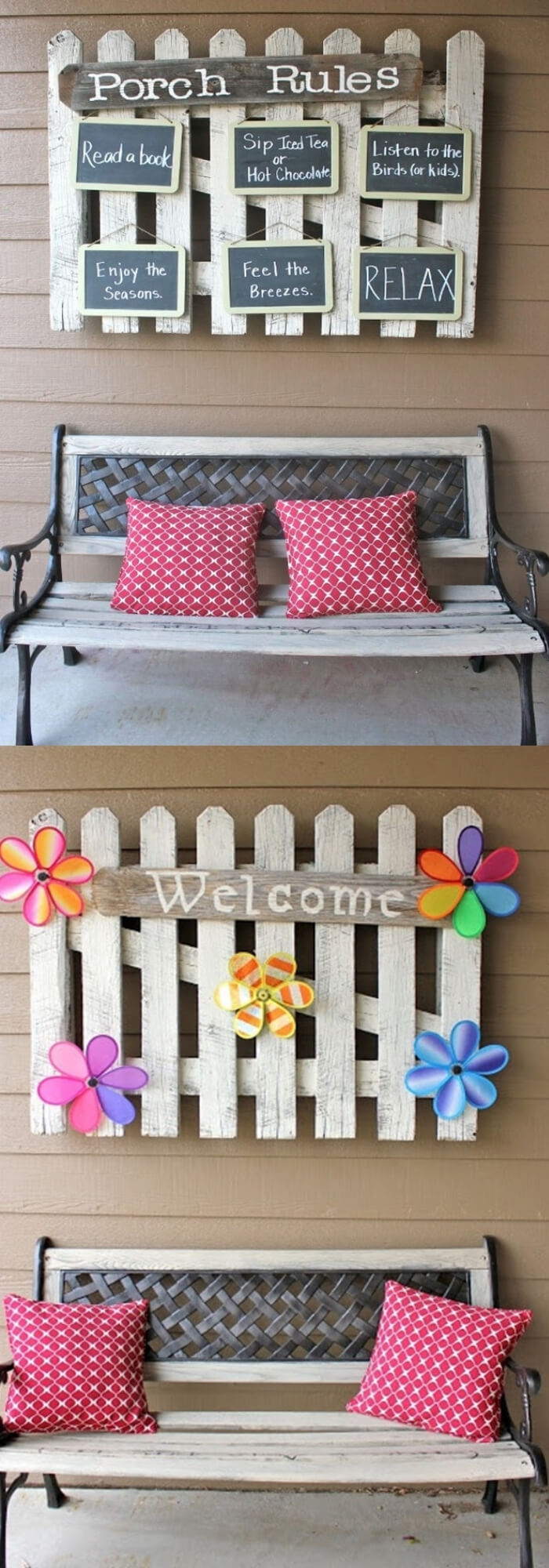 Porch Sign and Rules | Best Outdoor Wall Decor Ideas